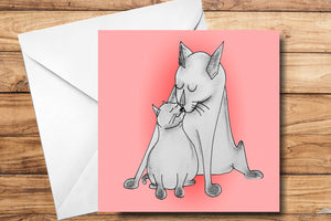 New Baby Greeting Card by SUEX
