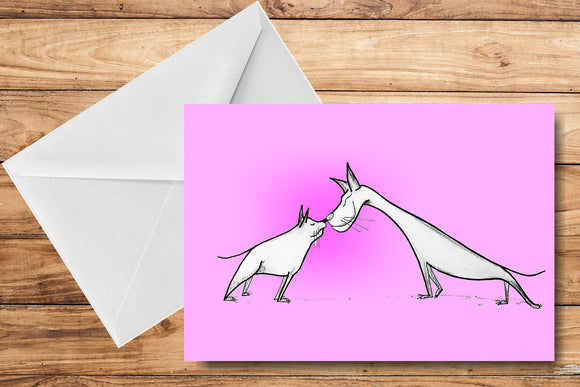 Best Friends Greeting Card by SUEX
