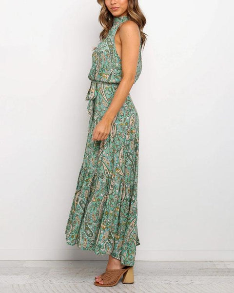 Sexy  Floral Maxi Dress
