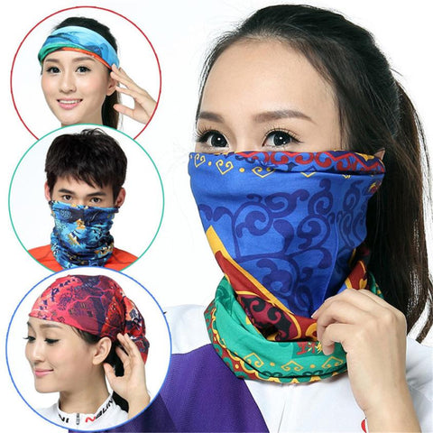 Outdoor Sport Cycling Face Mask Protection Magic Seamless Fashion Outdoor Cycling Scarf Mask