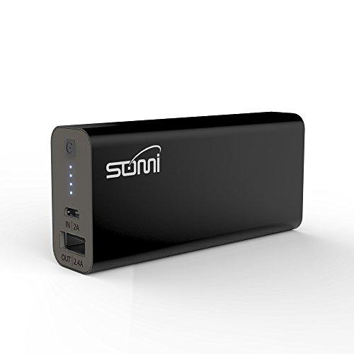 Portable External High-Speed 3000mAh Power Bank with LED Flashlight