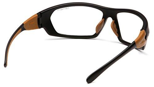 Carhartt Gear CHB210D Carbondale - Clear Lens with Black/Tan Frame
