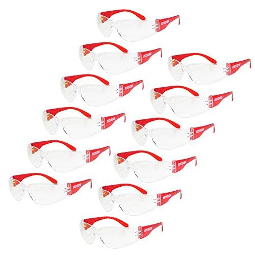JORESTECH Eyewear Protective Safety Glasses Pack of 12