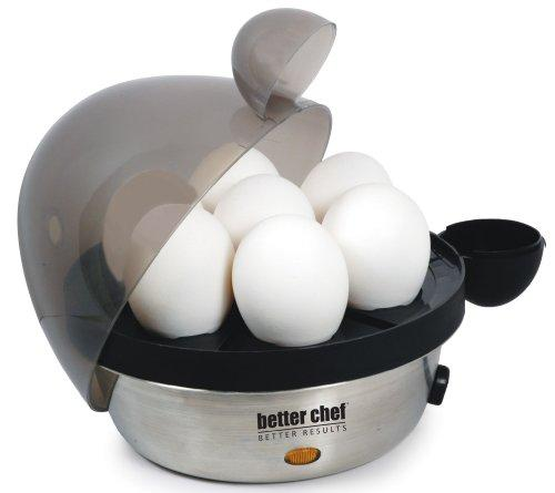 Electric 7 Eggs Cooker Stainless Steel by Better Chef - Free 2 Day Shipping!