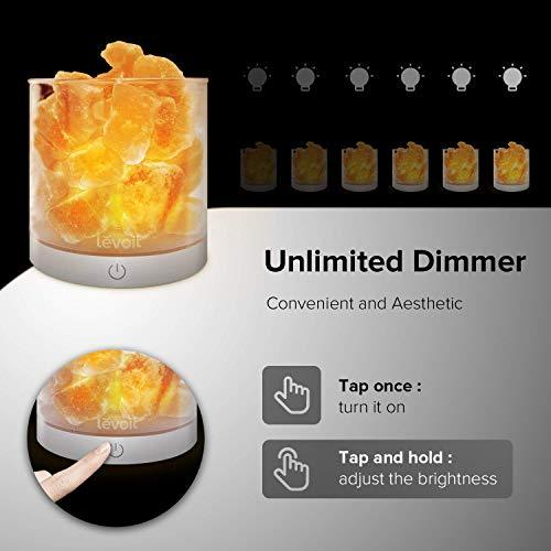 Natural Himalayan Pink Salt Rock USB Lamp