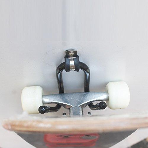 Skateboard Wall Hanger Wall Storage Clip Skateboard Wall Rack Wall Mount - for Skateboard and Longboard