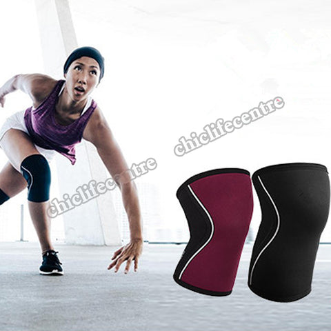Knee Sleeves for Weightlifting (1 Pair) Premium Support & Compression