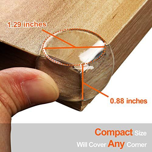 12 Pack: Safety Furniture Corner Protector Guard