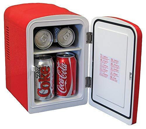 Portable Red Coke-a-Cola 6 Can Mini Cooler