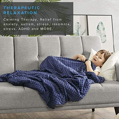 Nano-Ceramic Comfort Weighted Blanket with 2 Free Duvet Covers