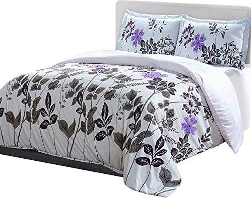 Utopian Luxurious Brushed Velvet Microfiber Duvet Cover Set