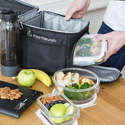 13 Piece: Airtight Glass Meal Prep Food Storage Containers