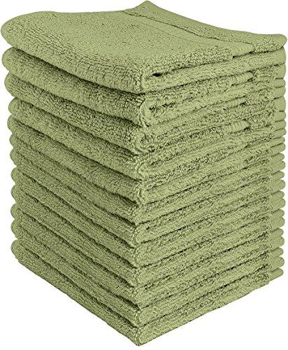 12 Pack: Utopian Luxurious Cotton Soft Washcloth Towels