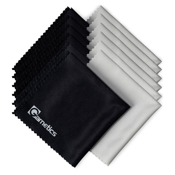 12 Pack: Premium Lintfree Microfiber Cleaning Cloths