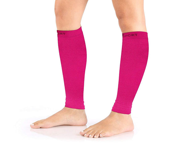Abco Tech Compression Sleeve-Calf and Shin Splints Support with Guard Leg Compression Design