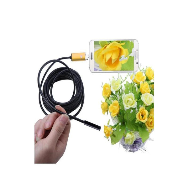 Flexible IP67 Waterproof 7.0mm LED Endoscope Inspection Camera