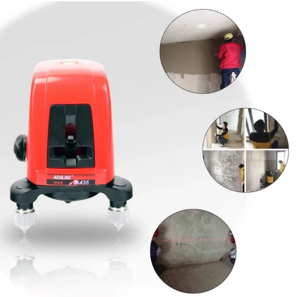 Mini Portable 3D Self-Leveling 360 Laser Level with Distance Meter