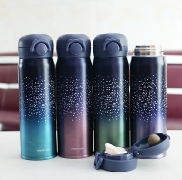 Double Wall Stainless Steel Vacuum Travel Bottle