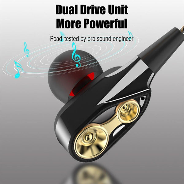 High Bass Stereo In-Ear Wired Earphones with Microphone