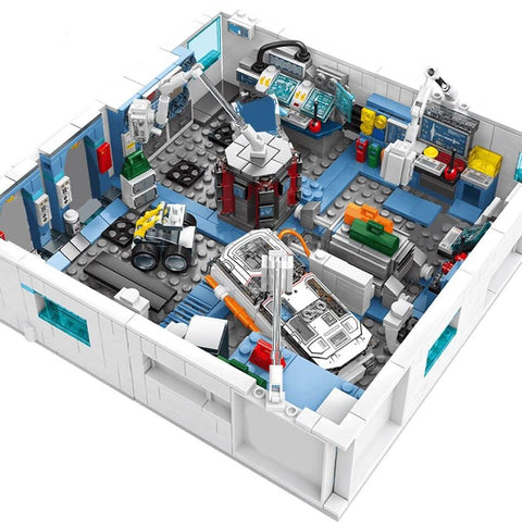 4 in 1 - 1006 pcs Space Station Building Blocks Set