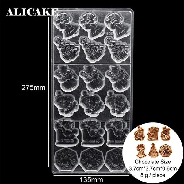 3D Polycarbonate Chocolate Mold