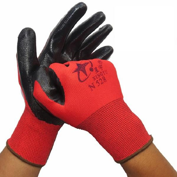 Nitrile Non-Slip Working Gloves