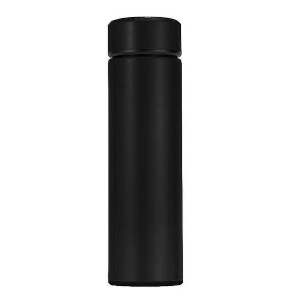 Stainless Steel Flask with Intelligent Temperature Display Insulated Thermos Strainer Cup