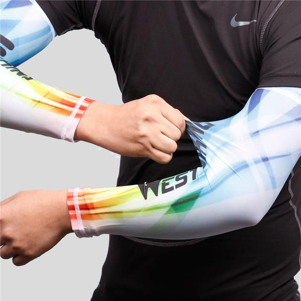 UV Protected Fitness Joint Support Arm Sleeves