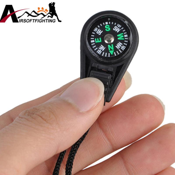 30 Piece: Mini Compass Camping and Hiking Navigator Keychain