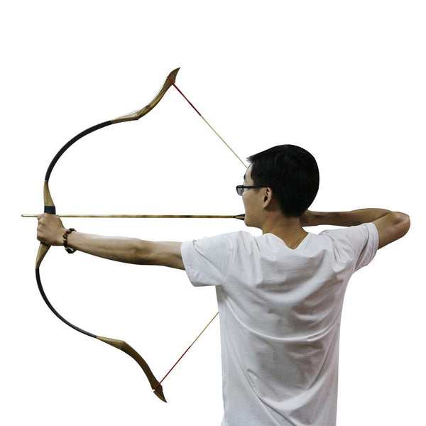 Traditional 50 lbs Recurve Archery Hunting Bow