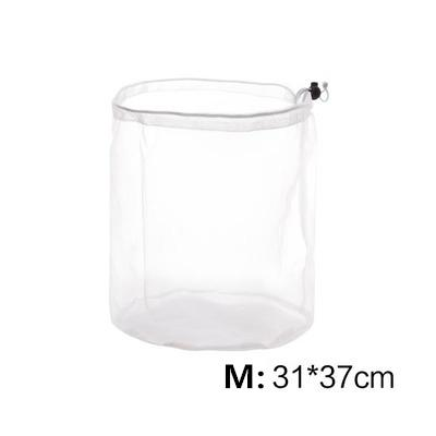 Drawstring Mesh Basket Pop-Up Laundry Bag