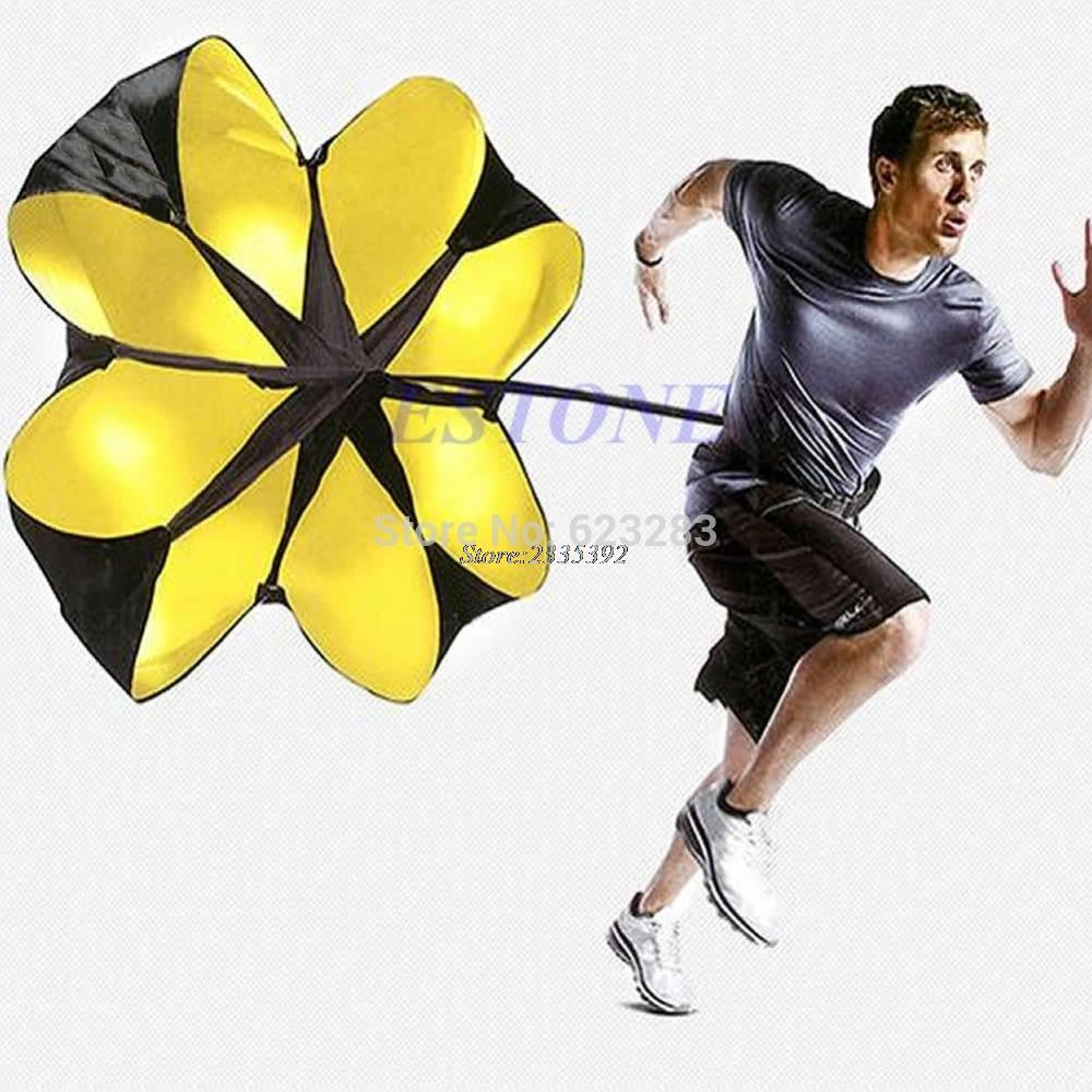 "New 56"" Sports Speed Chute resistance exercise running power training parachute"