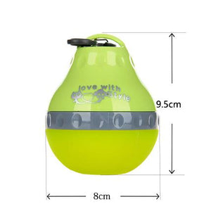 Portable Silicon Pet Water Bottle Drinker