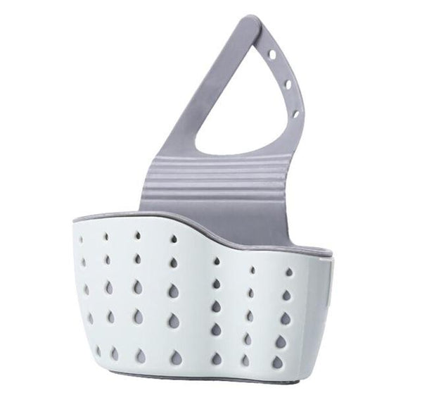 Sink Suction Cup Shelf Basket with Drain