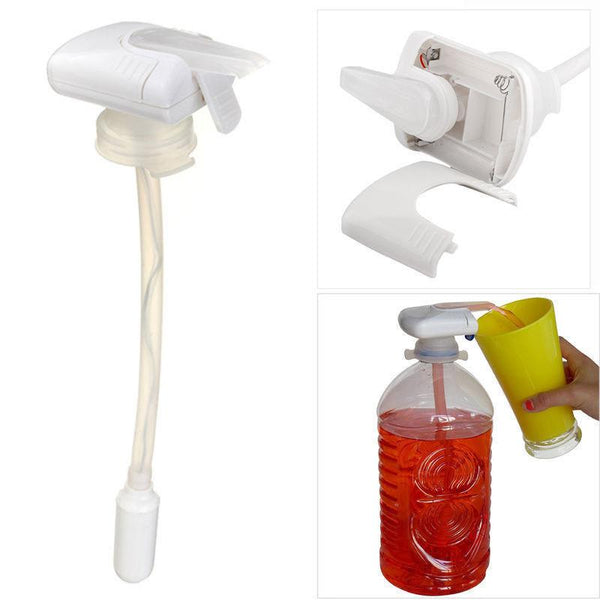 Electric Automatic Beverage Bottle Spill-Proof Pumping Device