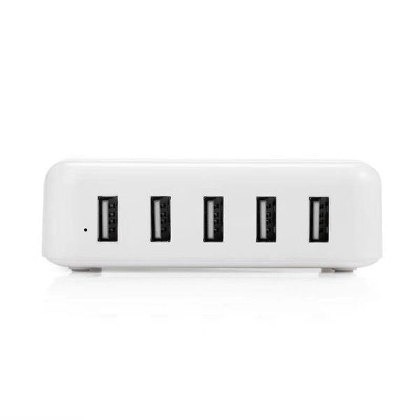 EU US Plug 5V 2A 5 USB Port Docking Station Fast Charger For iPhone 5 5S 6 6S 7 Plus