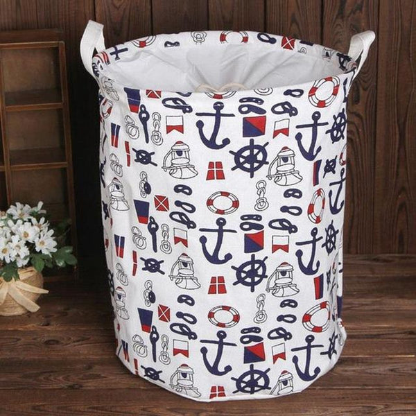 Urijk Foldable Laundry Bucket Clothes Organizer Laundry Baskets Storage Organizer Laundry Bags Basket for Toy Storages Hamper