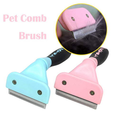 Professional Cats Brush Furmins Remover Hair Combs For Cat Grooming Cat Supplies Shedding Detachable Furmins Cat Grooming 35