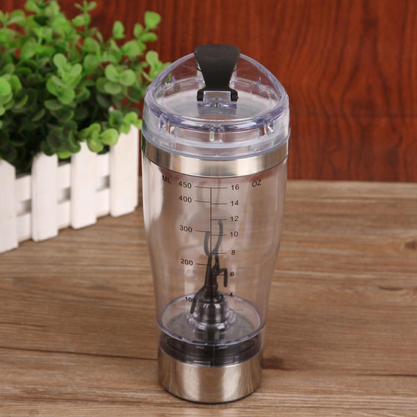 Automatic Electric Tornado Vortex Protein Shaker Water Bottle