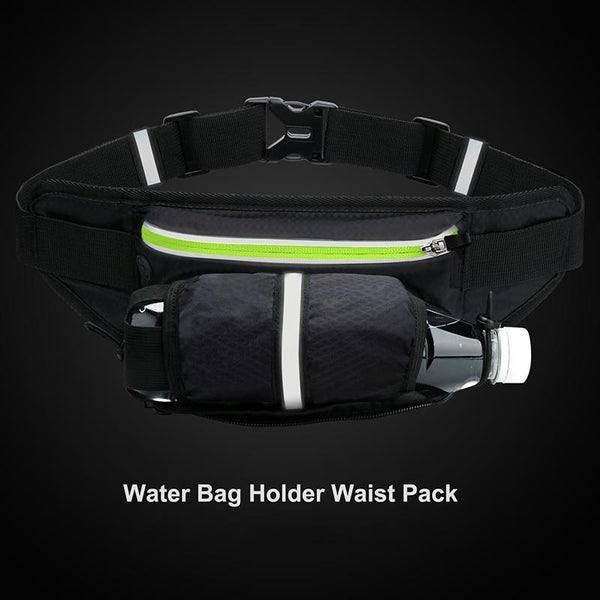 Sports Waterproof Fanny Pack with Water Bottle Holder