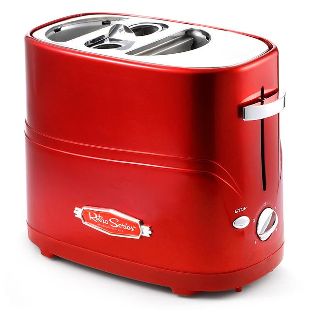 Removable Pop-up Hot Dog Toaster Bread Maker with Tong