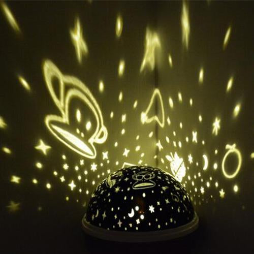 Rotating Night Sky LED Star Projector