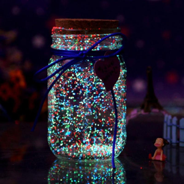 DYI Glow-in-the-Dark Jar Project