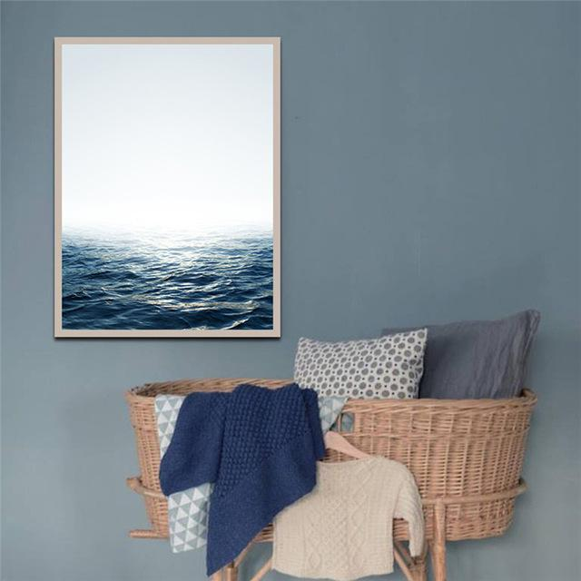 Unframed Modern Art Oil Painting Print Canvas Picture Seascape