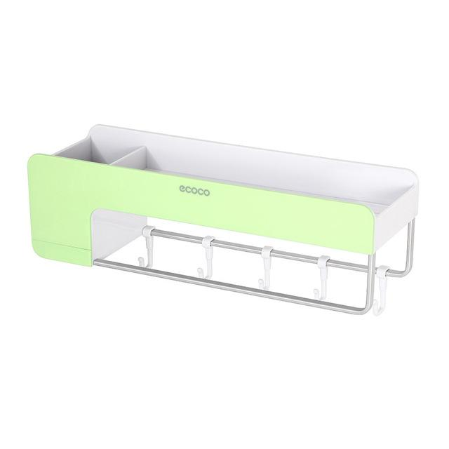 Multi-Function Bathroom Hanging Wall Shelf Storage Rack