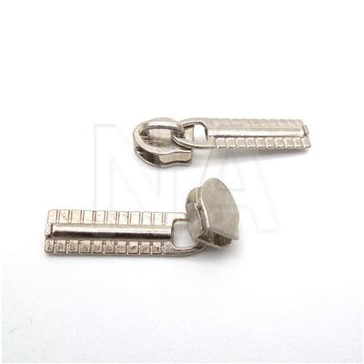 3# 25pcs Alloy Metal Zipper Sliders For Nylon Plating