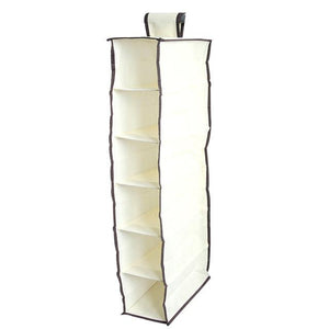 Wardrobe Hanging Storage Bag Clothes Hangers Holder Portable Organizer Hang Hanging Closet Organizer