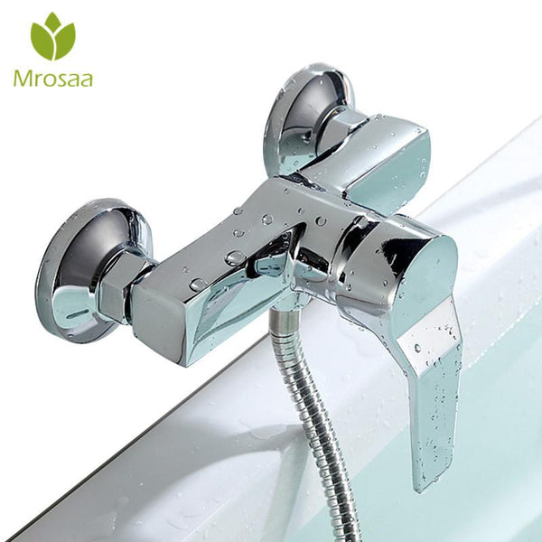 Bathroom Zinc Alloy Wall Mounted Hot & Cold Shower Mixer Valve