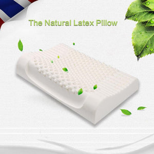 Natural Latex Comfort Therapy Cotton Pillow