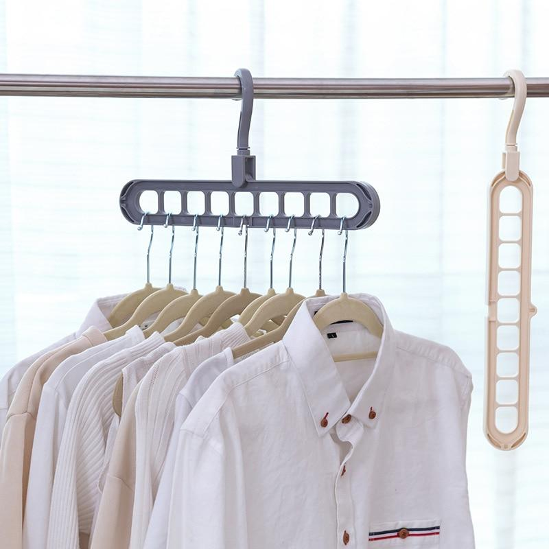 Multi-Support Closet Clothing Hanger